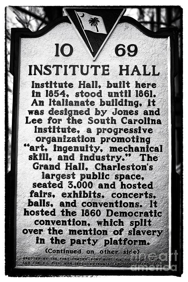 Institute Hall Memorial Photograph