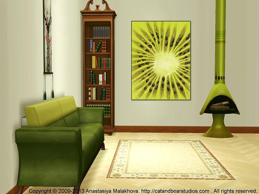 Interior Design Idea - Kiwi Digital Art