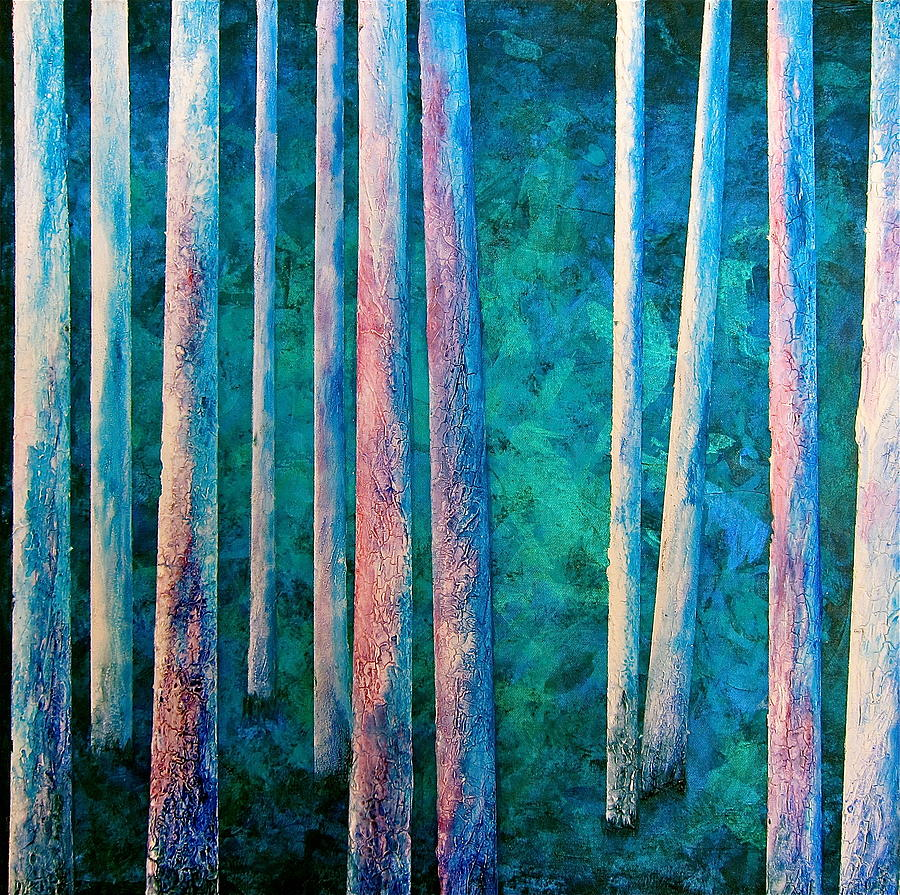 Into The Forest Painting  - Into The Forest Fine Art Print