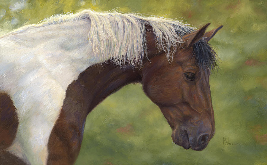 Intrigued Painting