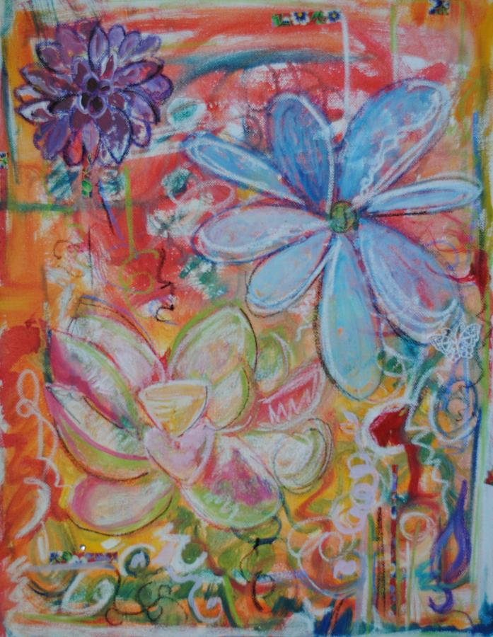 Intuitive Painting Painting