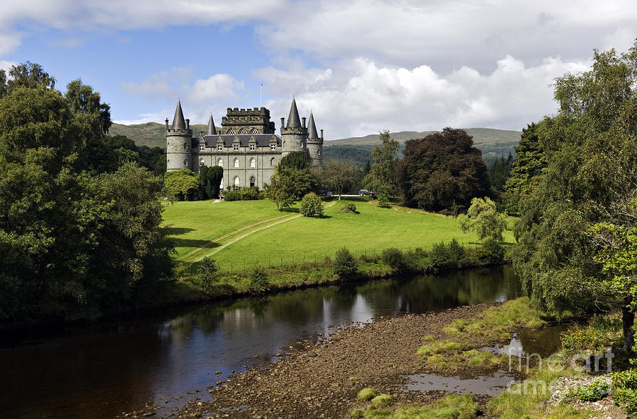 Inveraray Castle - D002464 Photograph  - Inveraray Castle - D002464 Fine Art Print
