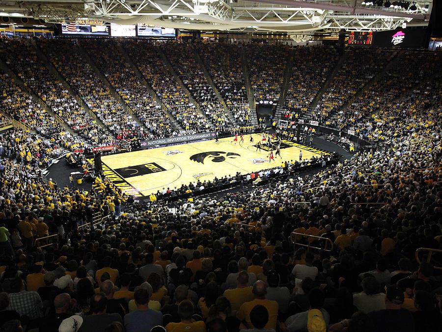 Iowa Hawkeyes Carver-hawkeye Arena by Replay Photos
