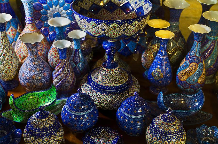 Iran Art Handcrafts Of Iran Photograph By Niloufar