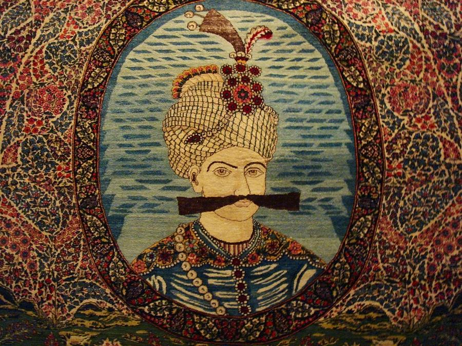 Iran King Abbas Carpet Museum Tehran Photograph