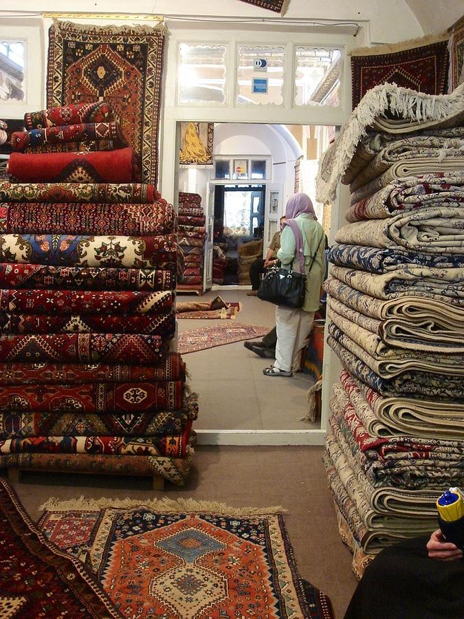 Iran Persian Carpets Photograph