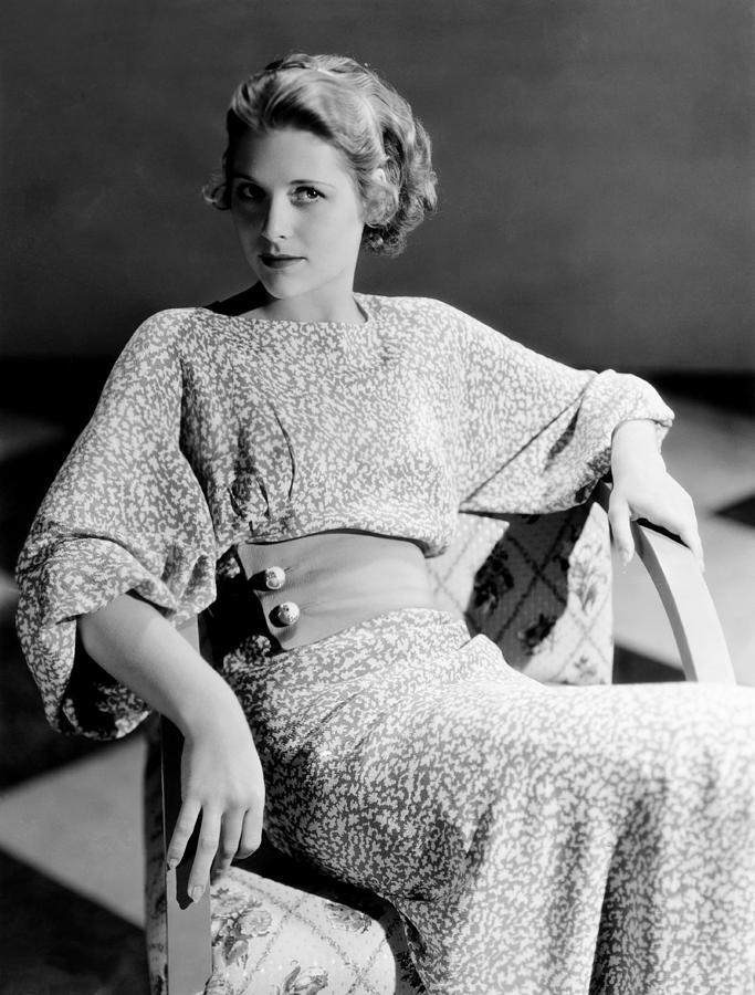 Irene Hervey, 1933 Photograph