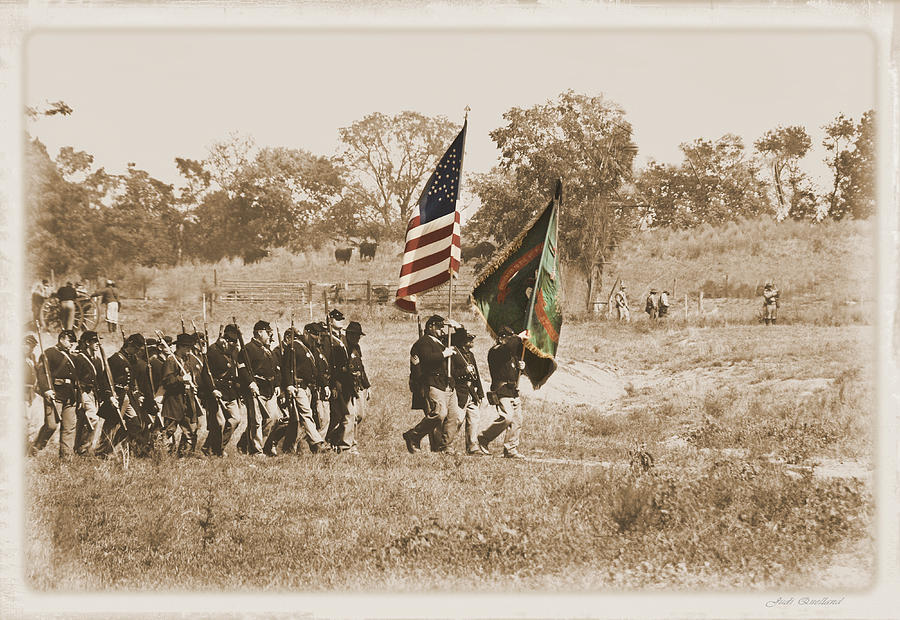 Irish Brigade Photograph  - Irish Brigade Fine Art Print