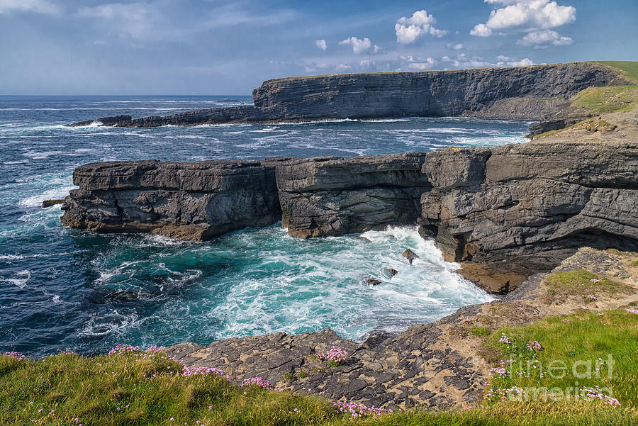 Irish Cliffs Photograph  - Irish Cliffs Fine Art Print