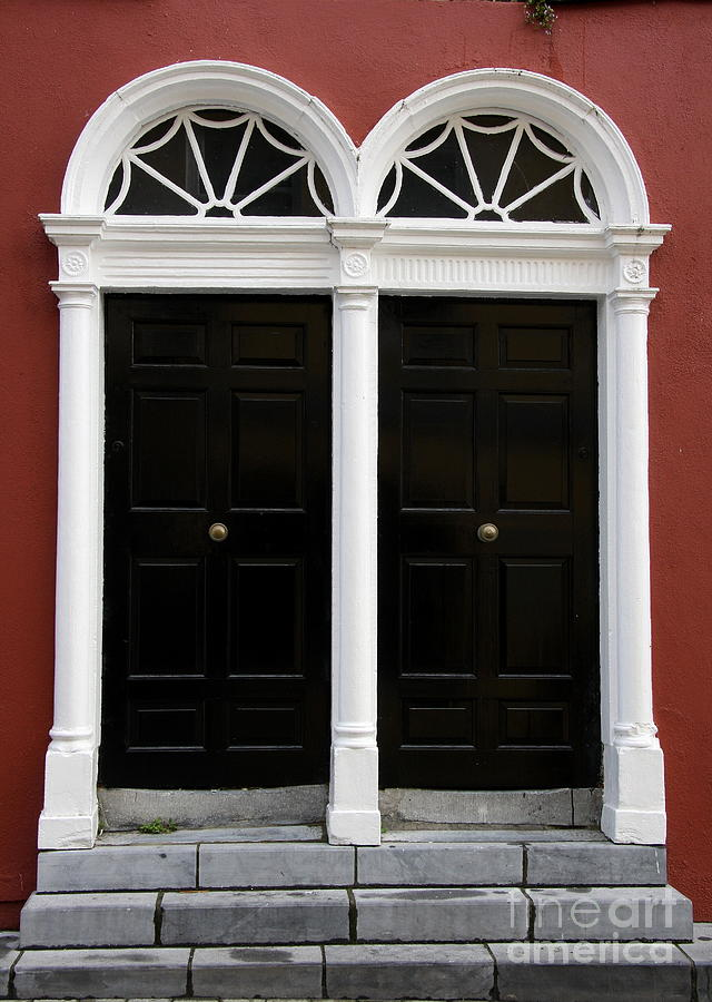 Irish Double Doors Photograph  - Irish Double Doors Fine Art Print