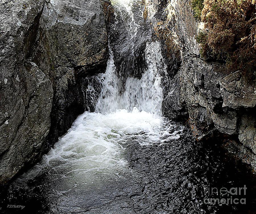 Irish Waterfall Photograph