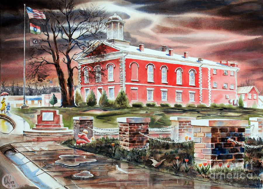 Iron County Courthouse No W102 Painting