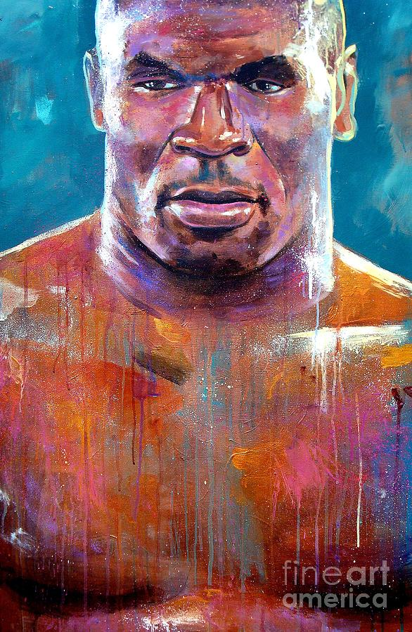 Iron Mike Painting  - Iron Mike Fine Art Print