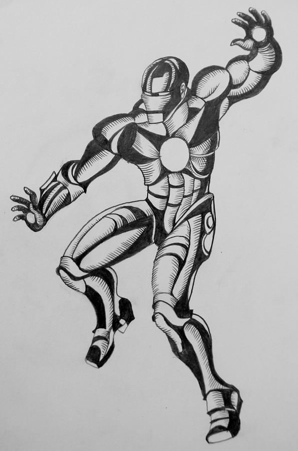 Ironman2 Drawing