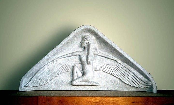 Ceramic Sculpture Ceramic Art - Isis  by Charles Lucas