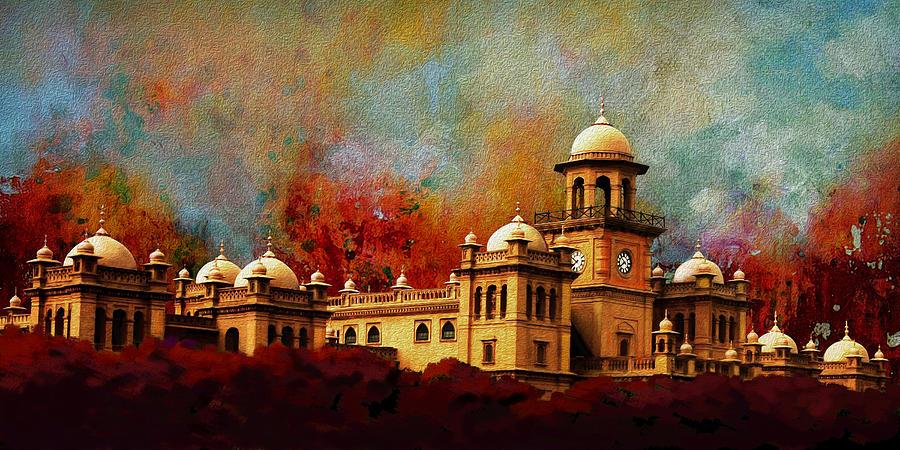Islamia College Lahore Painting