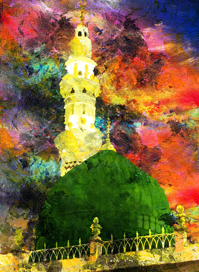 Islamic Painting - Islamic Painting 007 by Catf