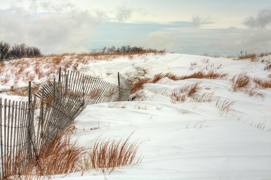 Island Snow Photograph