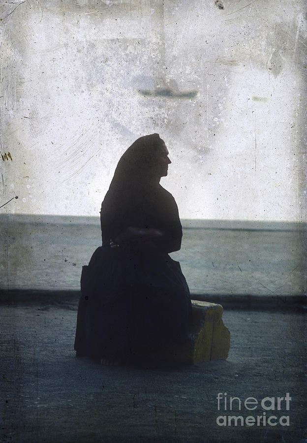 Isolated Woman Photograph