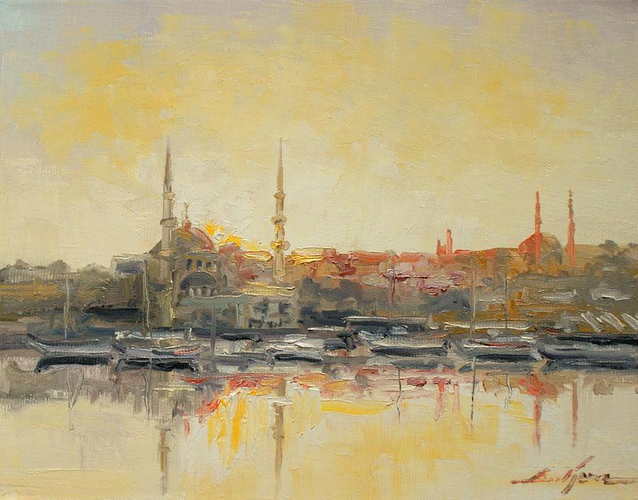 Istanbul- Hagia Sophia Painting