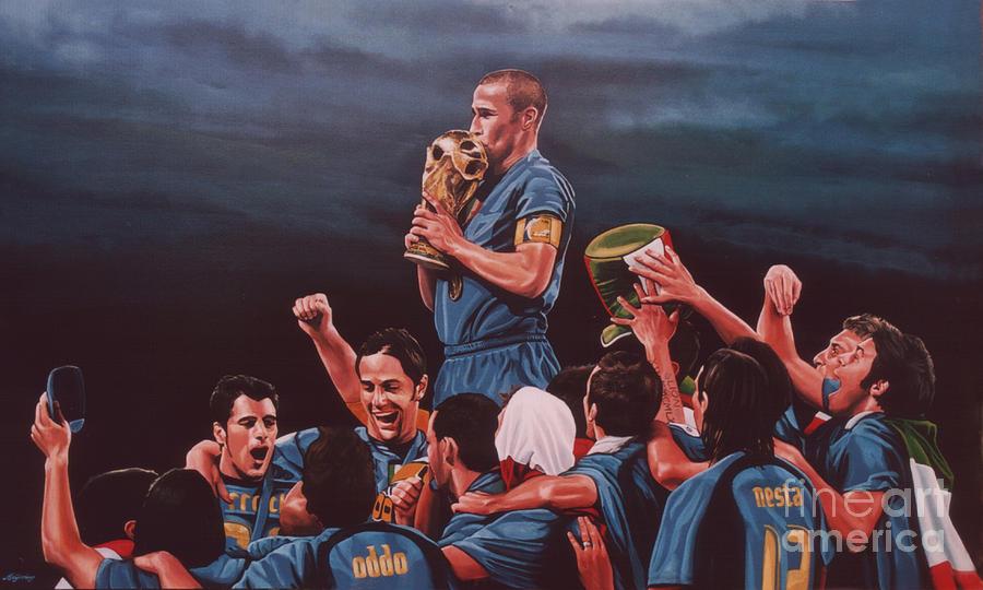 Italia The Blues Painting