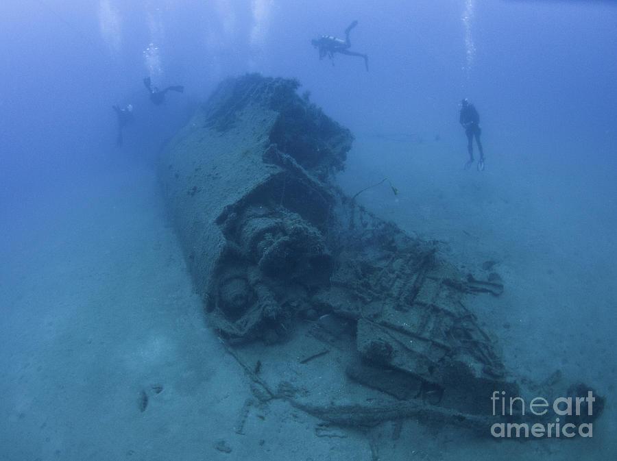 Italian Submarine Scire Wreck Photograph By Hagai Nativ
