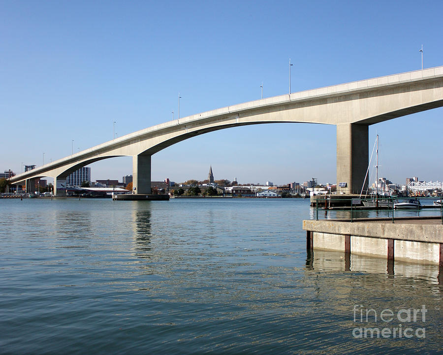 Itchen Bridge Southampton Photograph  - Itchen Bridge Southampton Fine Art Print