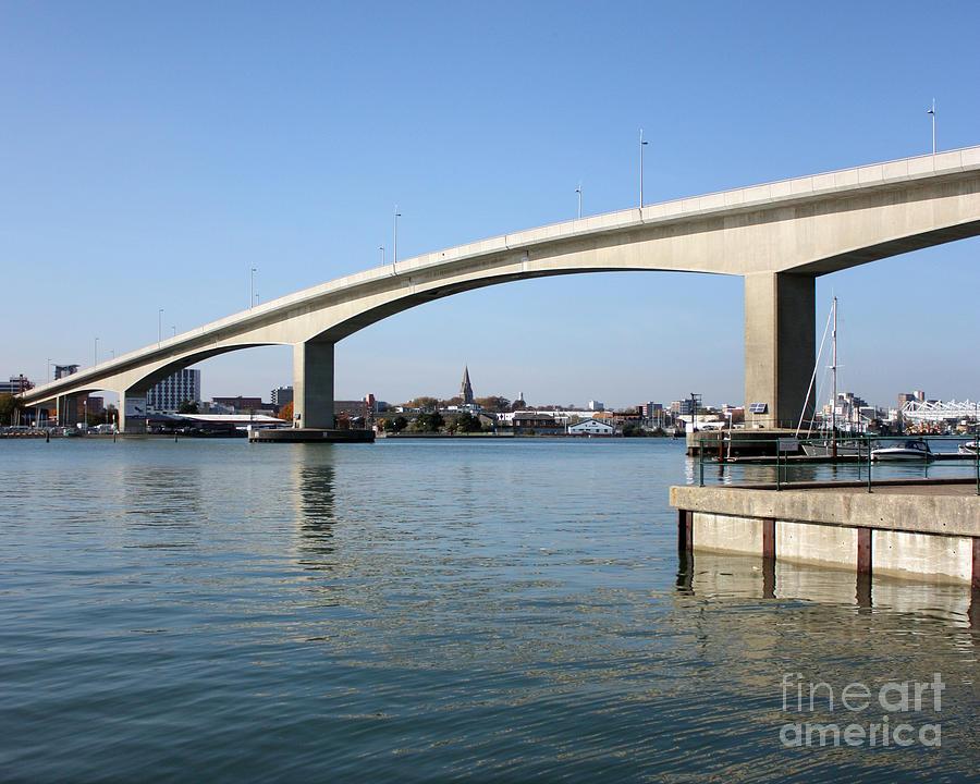 Itchen Bridge Southampton Photograph