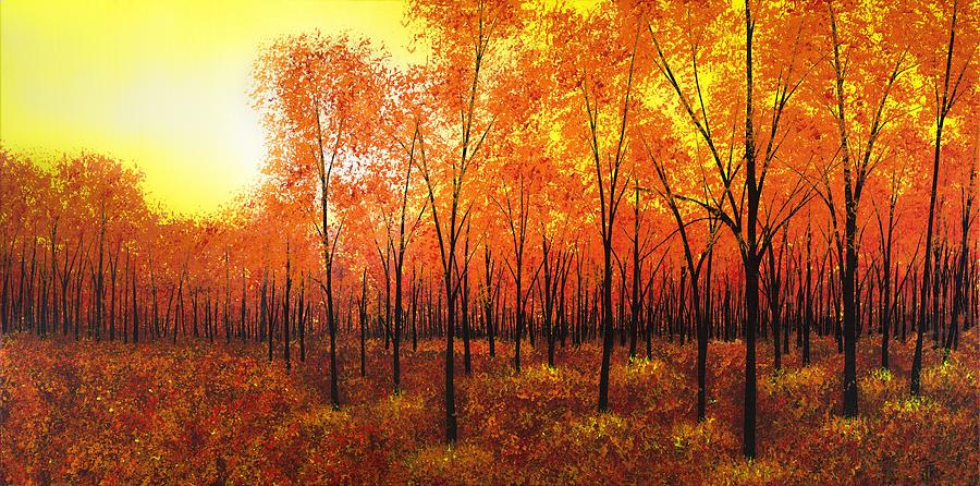 Autumn Painting - Its Almost Over by Justin  Strom