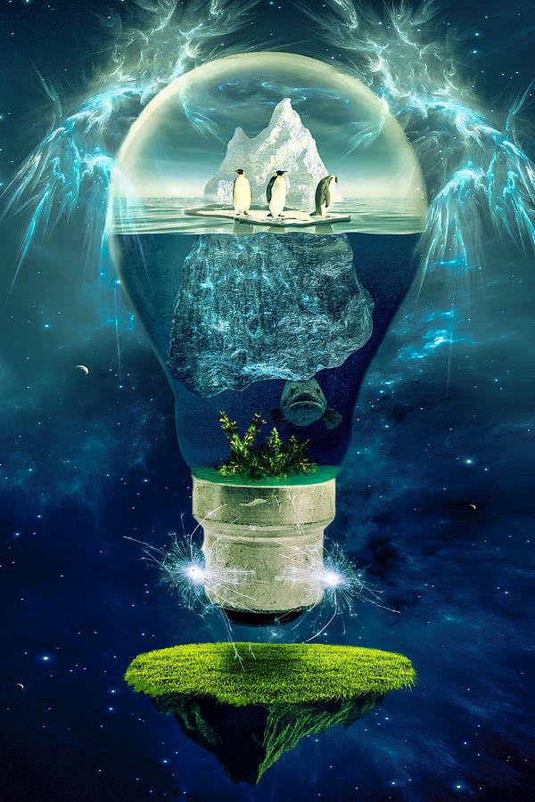 Concept Photograph - Its The End Of The World As We Know It by Erik Brede