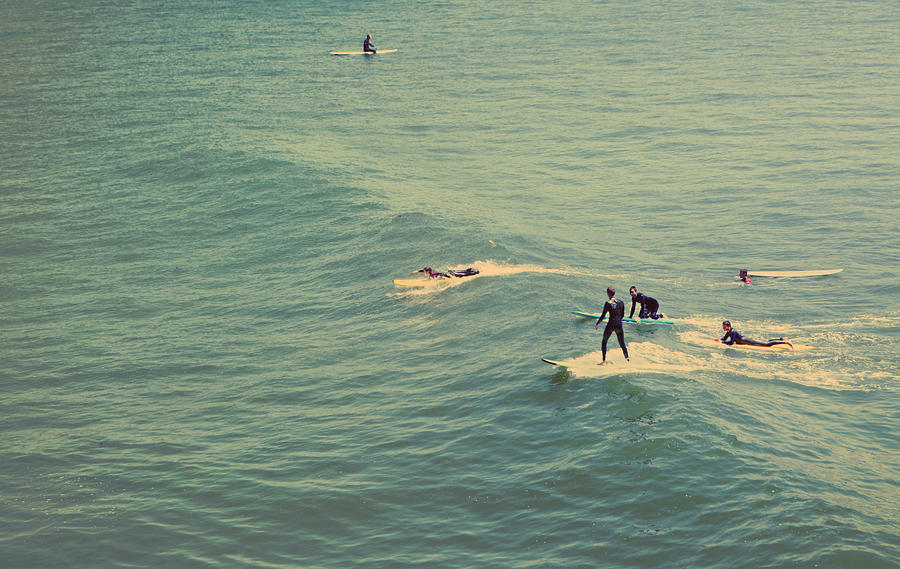 Santa Cruz Photograph - Its The Ride by Laurie Search