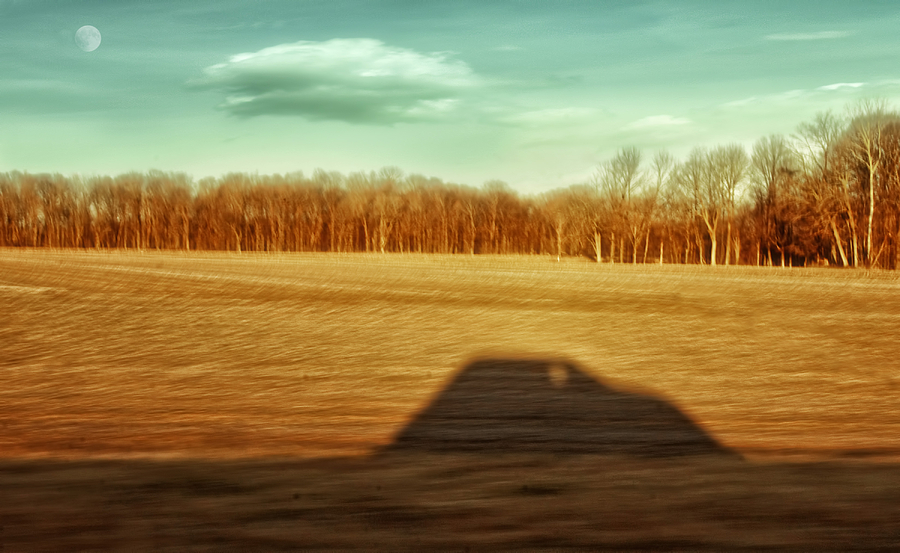 Driving At Sunrise Photograph - Ive Been Everywhere Man by Steven  Michael