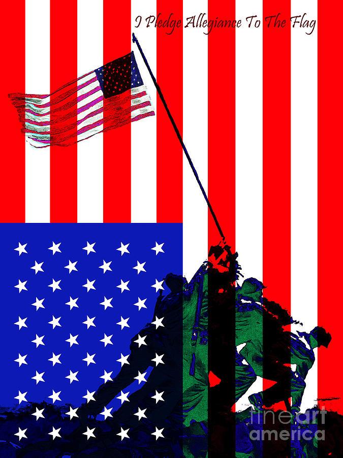 Iwo Jima 20130210 I Pledge Allegiance To The Flag Photograph