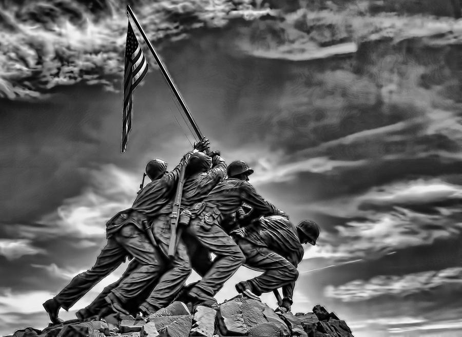 Iwo Jima Photograph