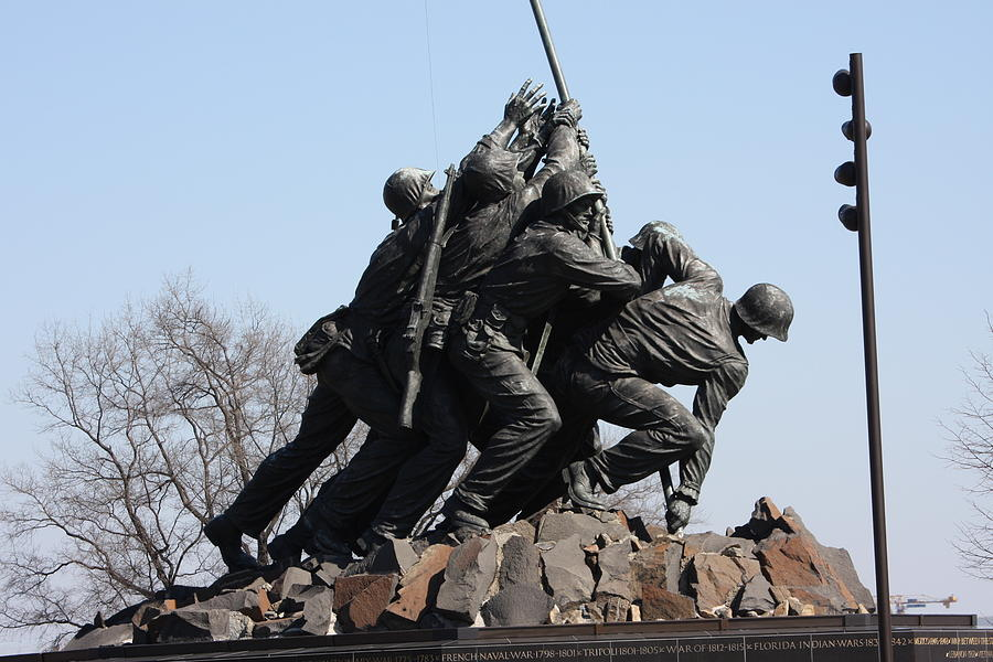 Iwo Jima Memorial - 12123 Photograph