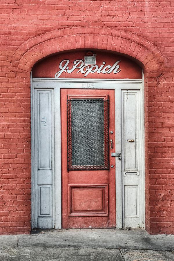 Door Photograph - J. Popich by Brenda Bryant