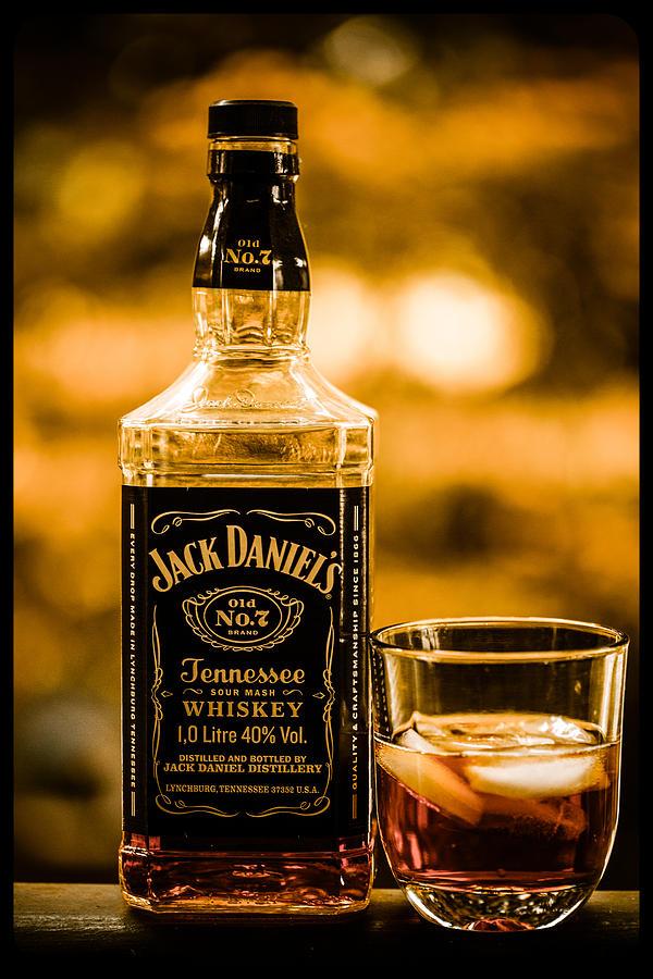 Jack Daniels Vintage Poster by Eti Reid