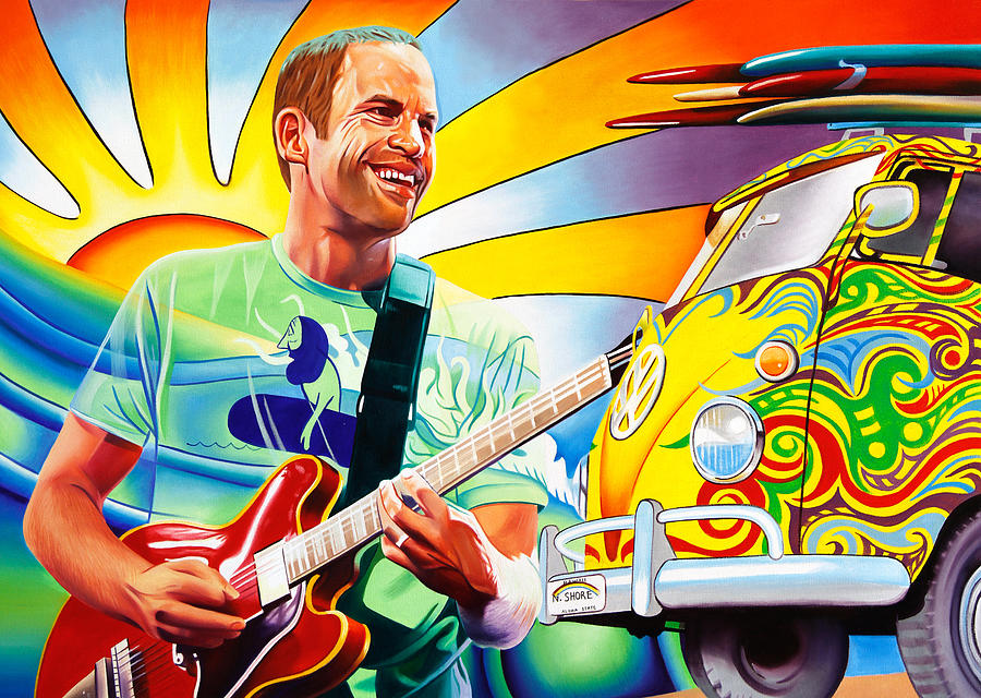 Jack Johnson Painting