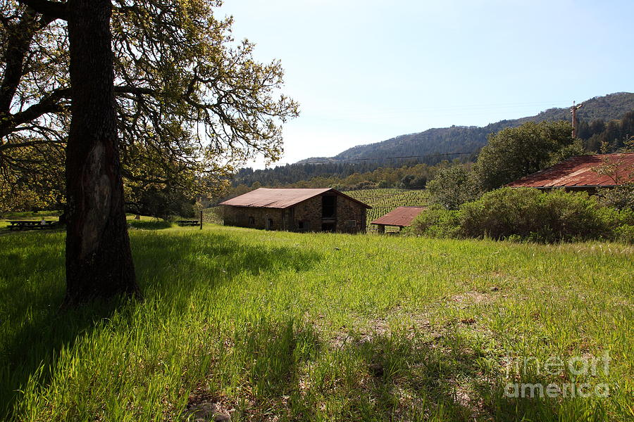 Jack London Stallion Barn 5d22056 Photograph  - Jack London Stallion Barn 5d22056 Fine Art Print