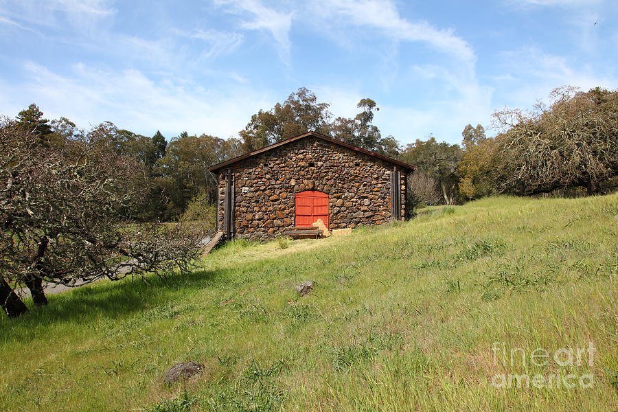Jack London Stallion Barn 5d22100 Photograph  - Jack London Stallion Barn 5d22100 Fine Art Print