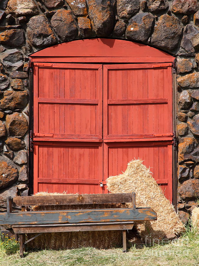 Sonoma Photograph - Jack London Stallion Barn 5d22103 by Wingsdomain Art and Photography