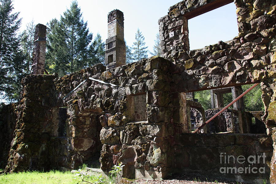 Jack London Wolf House 5d22038 Photograph  - Jack London Wolf House 5d22038 Fine Art Print