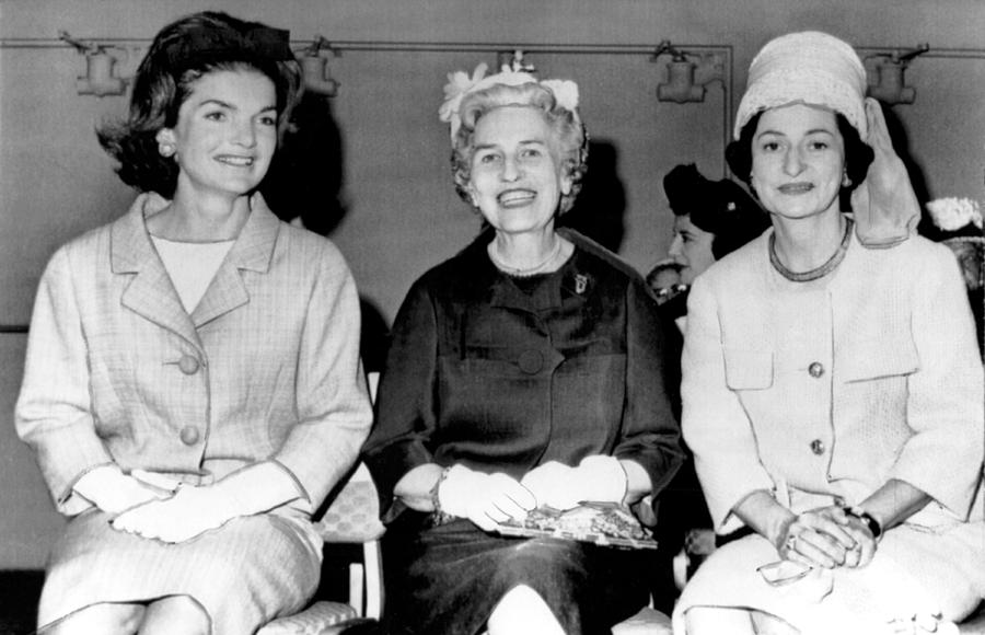Jackie Kennedy At Luncheon Photograph