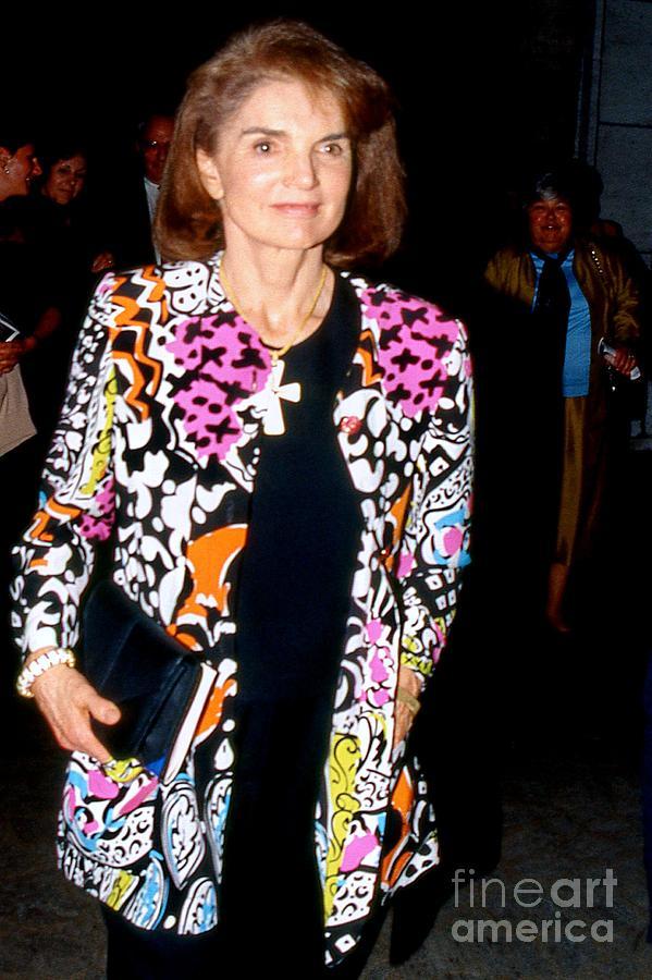 Jackie Kennedy Onassis 1990 Photograph