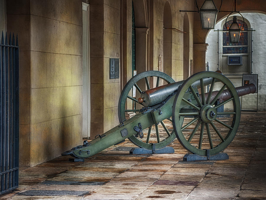 Jackson Square Cannon Photograph