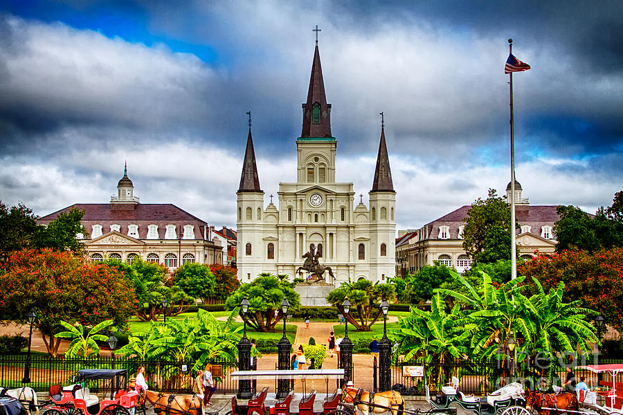 Jackson Square New Orleans Photograph