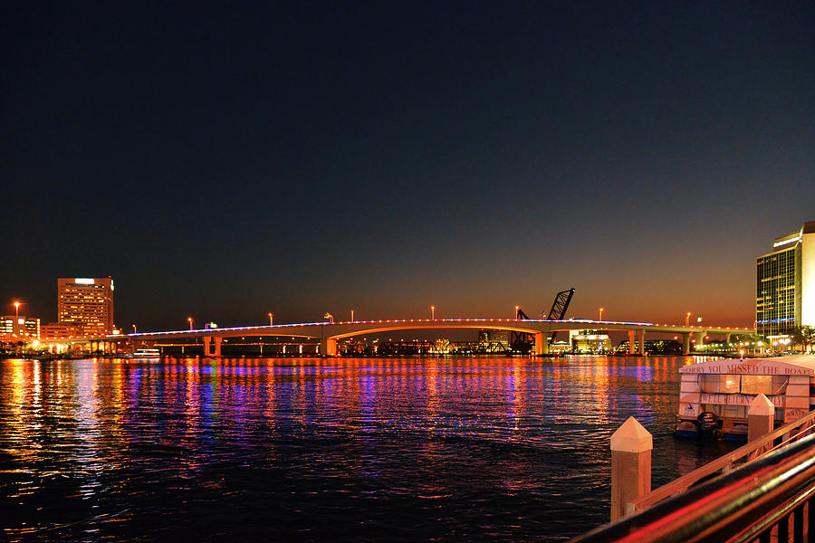 Jacksonville Acosta Bridge Photograph
