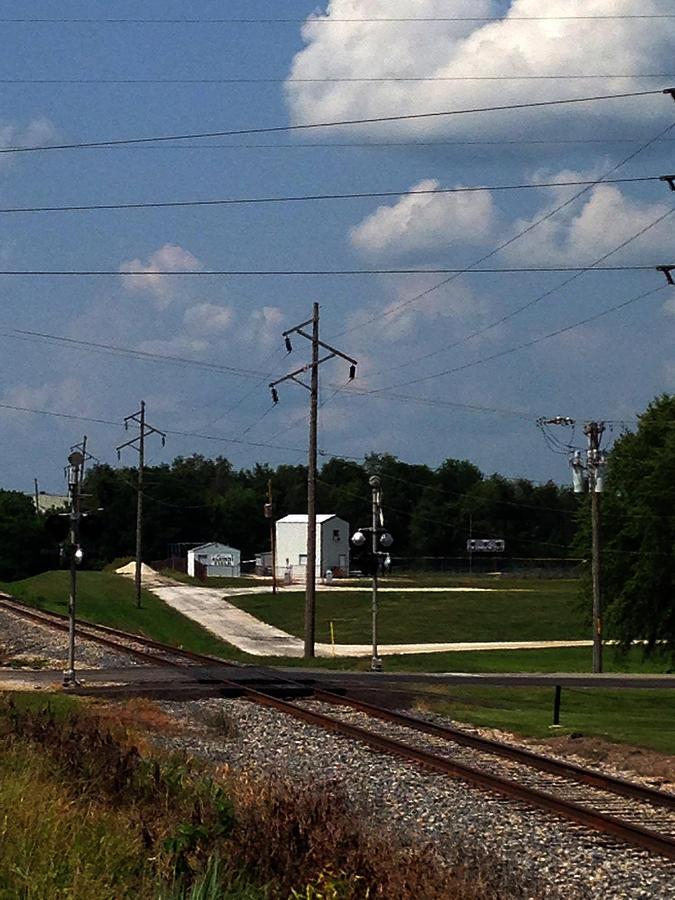Jacksonville Il Rail Crossing 1 Photograph