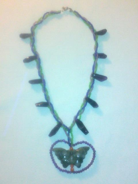 Jade Butterfly Jewelry