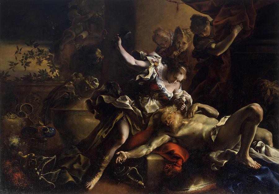 Jael And Sisera, By Bartolomeo Painting